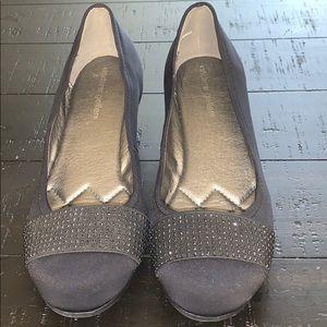 """EUC Andrew Geller wedge shoes - 1.5"""" wedge"""